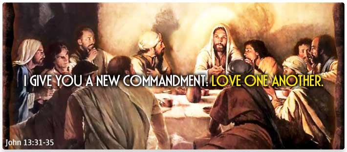 Jesus Quote: Love One Another