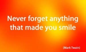 Quote: Never forget anything that...