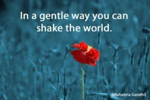Quote: In a gentle way...
