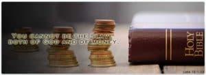 Slave: God or Money