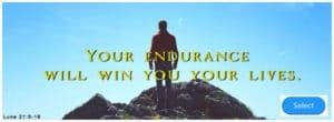 Endurance: Bible Quote (Link Photo)
