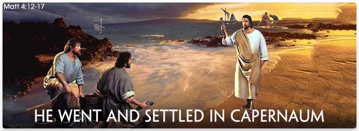 Jesus in Capernaum