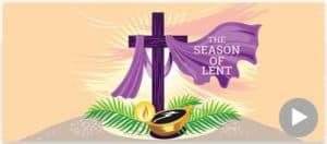 Lent Season, 40 days of penance.