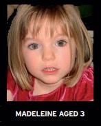 Madeleine McCann Aged 3