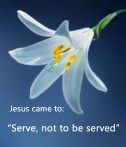"Quotation: ""Jesus came to..."""