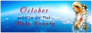 Month of Rosary - October
