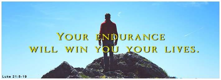 Bible Quote: Endurance wins